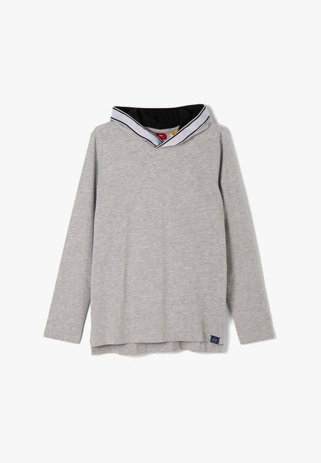 CONTRASTANTS - Long sleeved top - grey melange