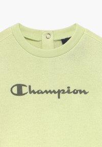 Champion - CHAMPION X ZALANDO TODDLER SET - Tracksuit - mint - 4