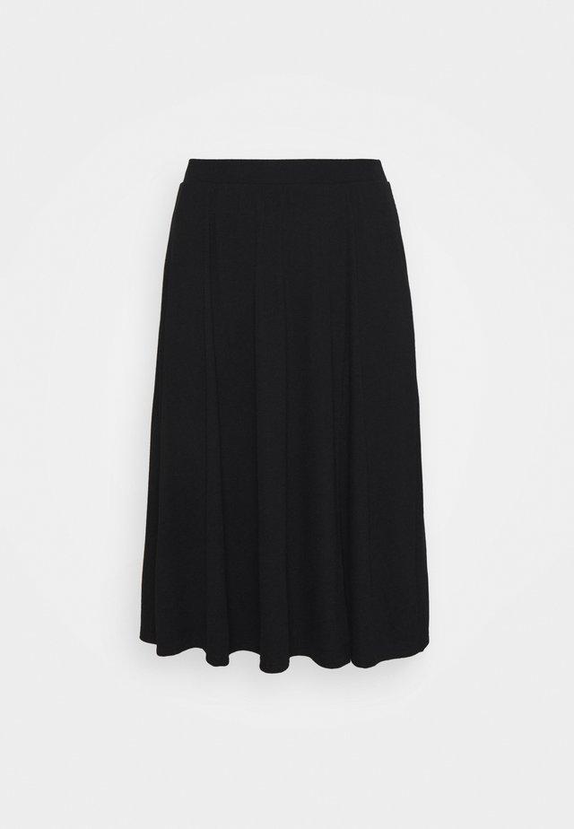 VMEY BELOW KNEE SKIRT - A-line skirt - black