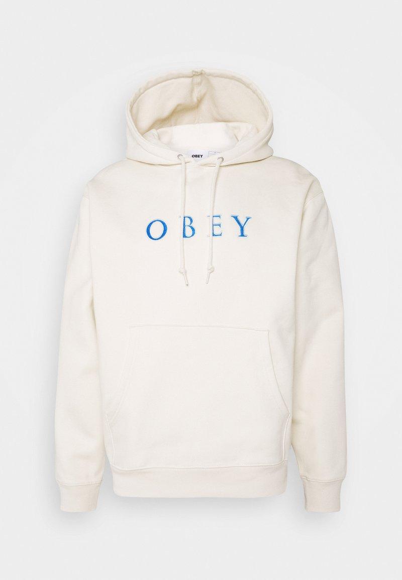 Obey Clothing - CURTIS HOOD - Felpa con cappuccio - natural