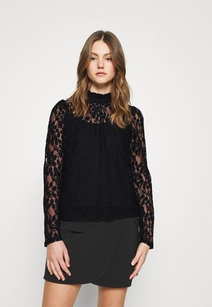 ONLBELLA BOW - Blouse - black
