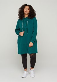 Active by Zizzi - Jersey con capucha - green - 1
