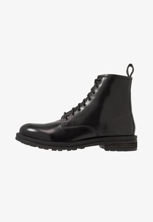 WOLF LACE UP - Schnürstiefelette - black
