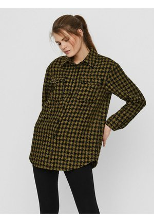 Button-down blouse - fir green