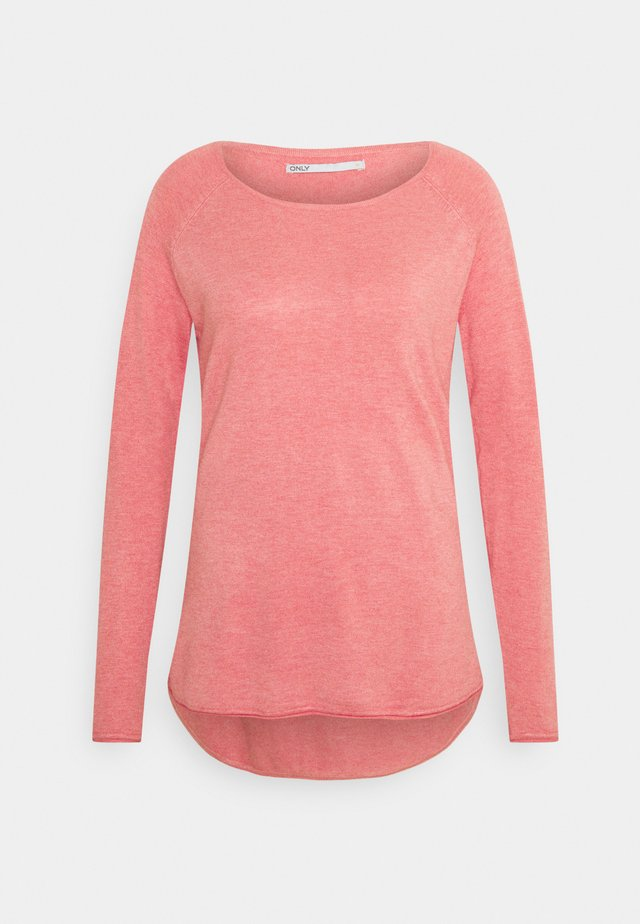 ONLMILA LACY LONG - Strickpullover - tea rose