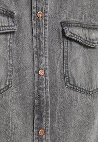 Vero Moda - VMMARIA SHIRT - Button-down blouse - black - 5
