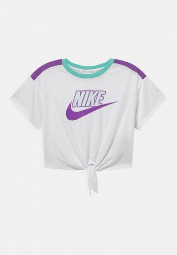 BOXY - Print T-shirt - white