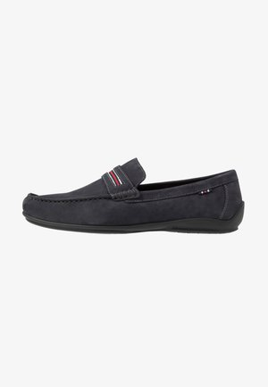 LEATHER  - Moccasins - dark blue
