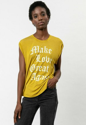 T-shirt print - flint ovd