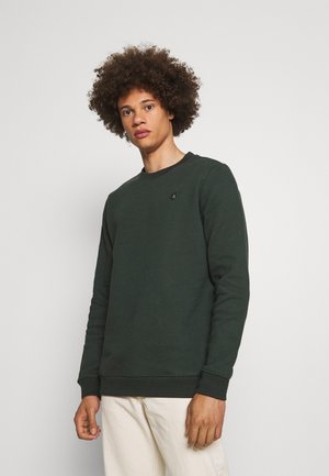 AKALLEN CREW NECK - Sweater - deep forrest