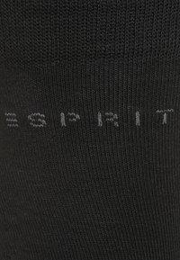 Esprit - 5 PACK - Strumpor - black - 5