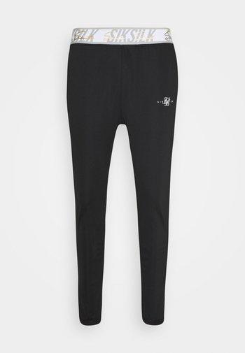SCOPE SIGNATURE TAPE PANT - Pantaloni sportivi - black
