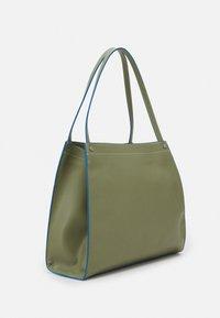 HVISK - BOAT SOFT - Shopper - moss green - 1