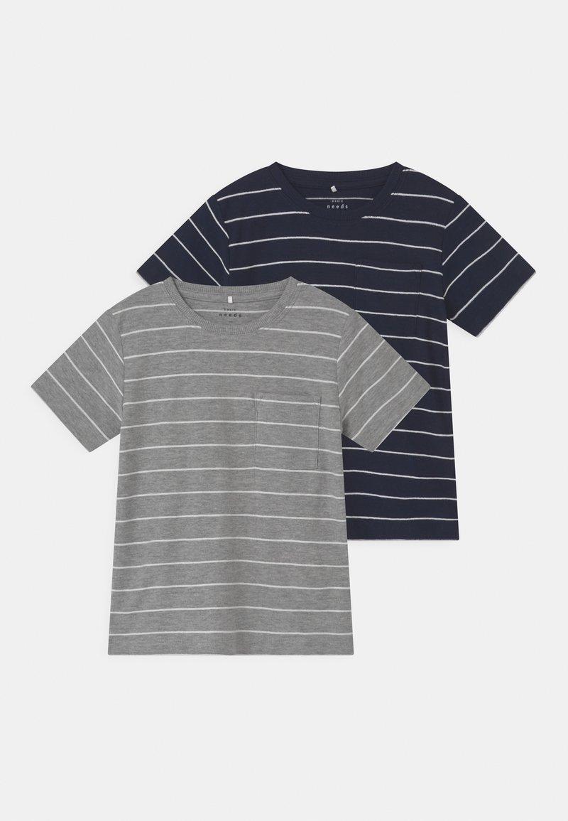 Name it - NMMVES 2 PACK - T-shirts print - dark sapphire