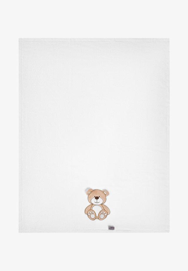 Manta de bebé - white bear