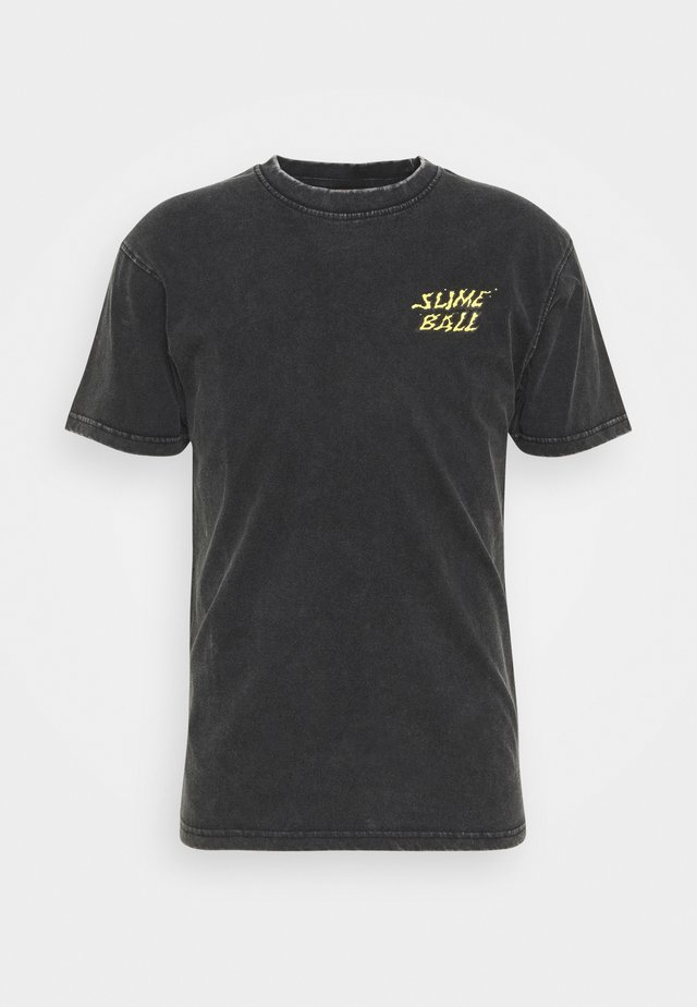 EXCLUSIVE UNISEX  - T-shirts med print - black