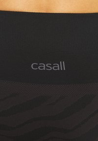 Casall - SEAMLESS MELTED - Legging - melted brown - 3