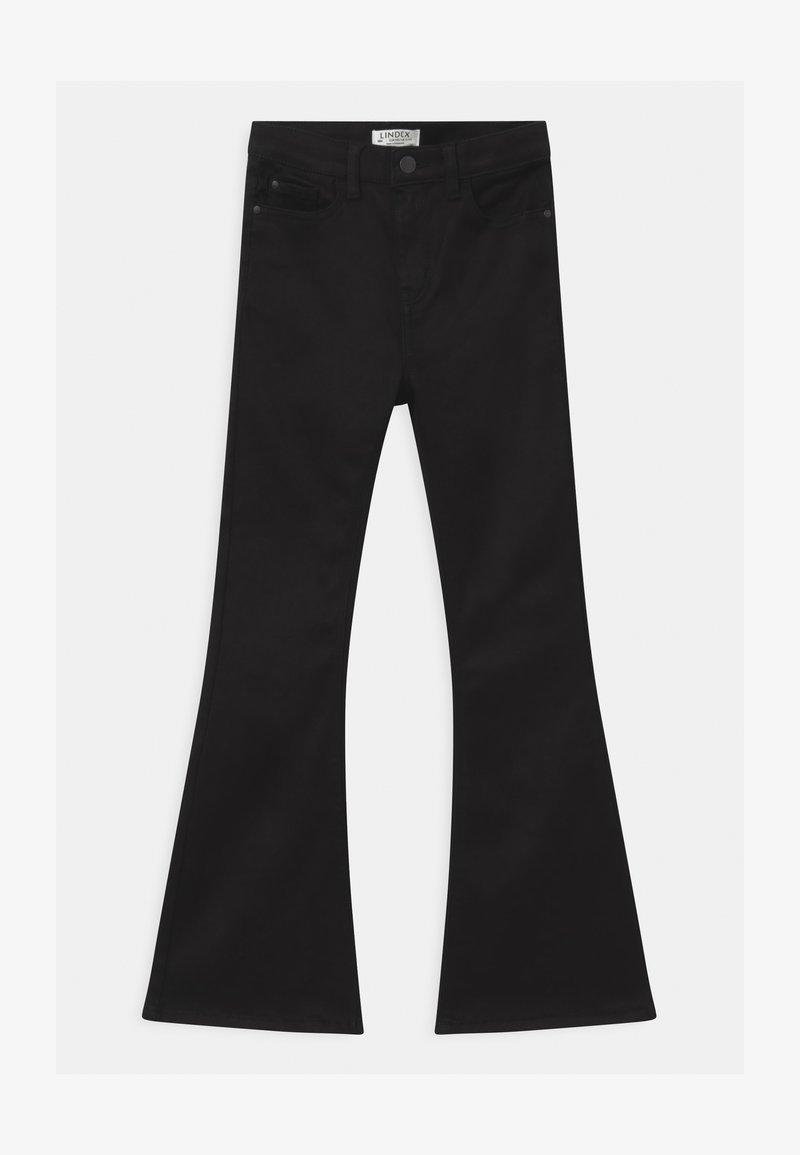 Lindex - Jeans bootcut - black