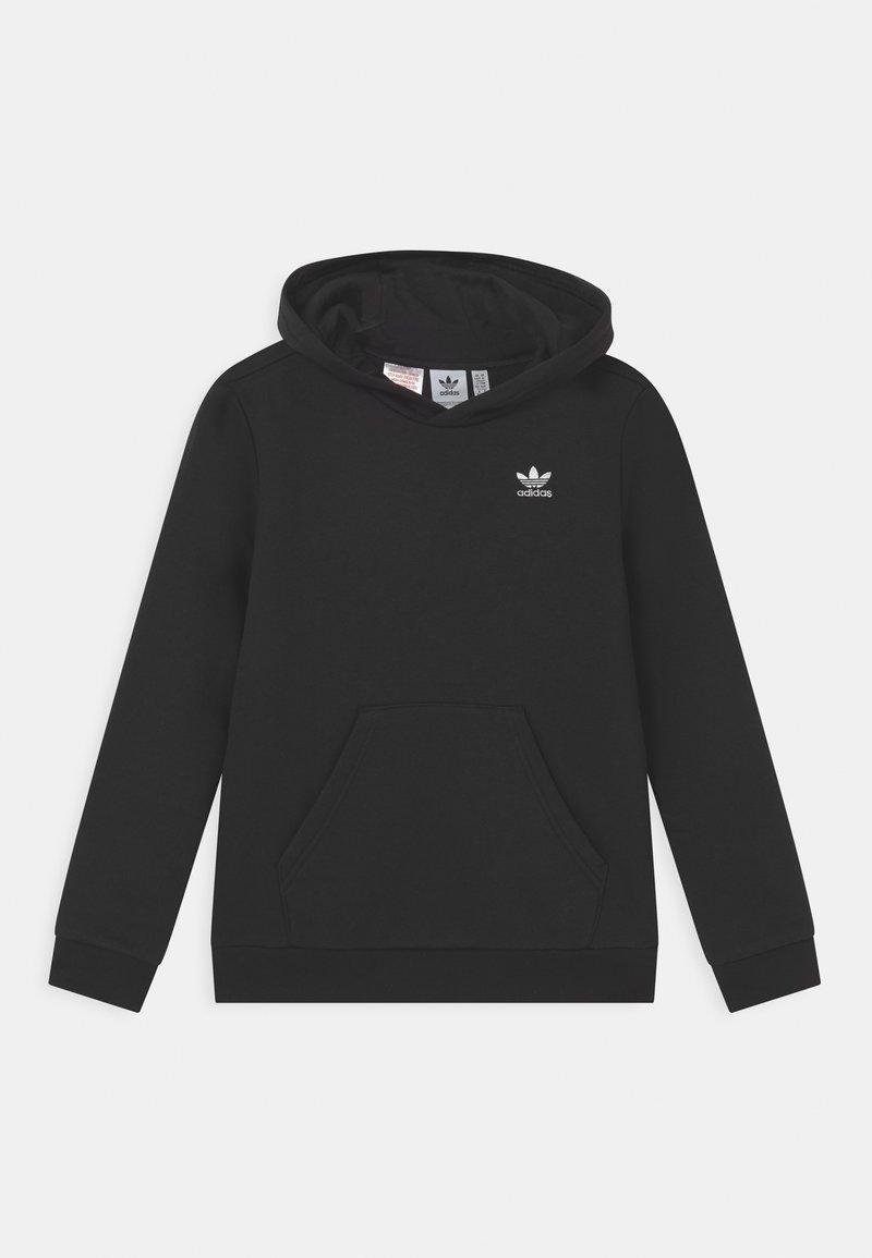 adidas Originals - HOODIE - Felpa con cappuccio - black/white
