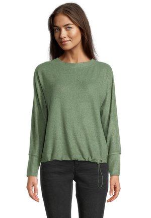 Sweatshirt - middle green melange