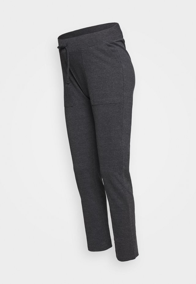 PANTS - Tracksuit bottoms - anthracite melange