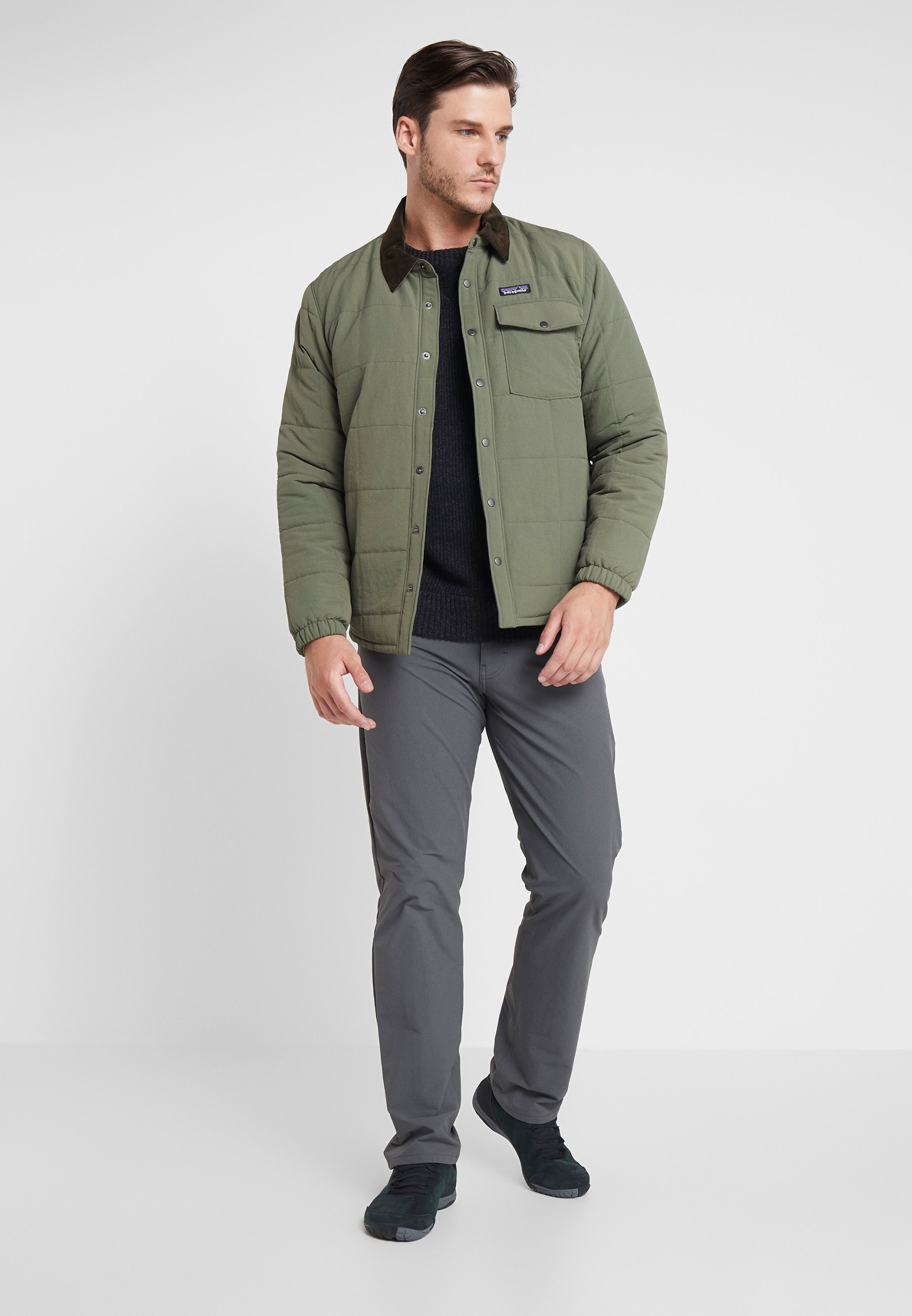 Patagonia ISTHMUS QUILTED - Veste d'hiver - industrial green