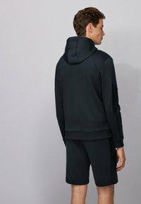 BOSS - SAGGY BATCH Z - Sweater met rits - dark blue - 2