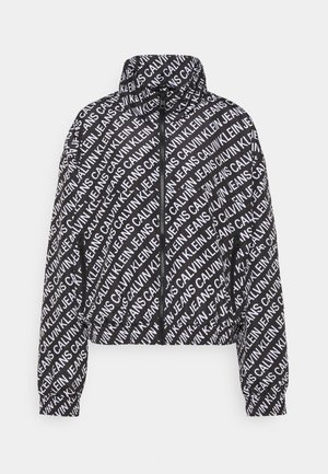 PACKABLE HOOD WINDBREAKER - Kurtka wiosenna - black
