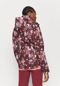 Roxy - JET SKI - Snowboard jacket - oxblood red - 3