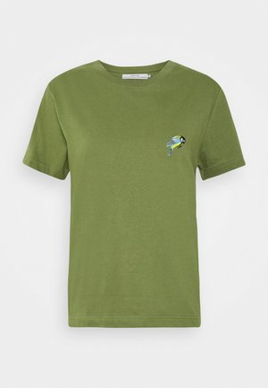 MYSEN LITTLE BIRD - Print T-shirt - leaf green