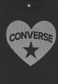 Converse - HEART TEE - T-shirt con stampa - black - 2