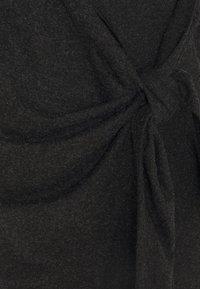 9Fashion - ADNARA - Jersey dress - anthracite - 2
