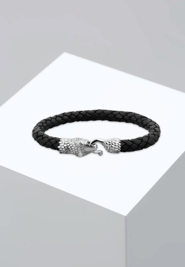 SCHLANGE - Bracelet - silver-coloured