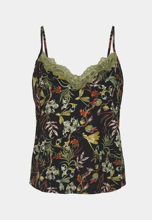 CAMI DRAGONFLY - Haut de pyjama - black