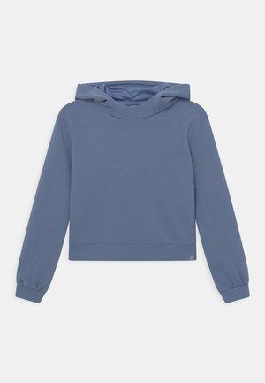 ONPDESS CROPPED HOOD GIRLS - Long sleeved top - bijou blue