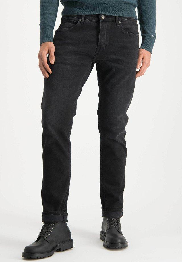 Slim fit jeans - denim black wash