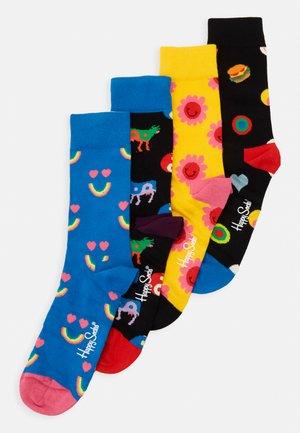 YIN YANG SOCKS GIFT SET 4 SET - Socks - multi