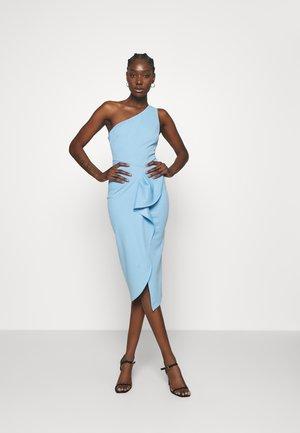 THE SUN RAYS DRESS - Shift dress - blue