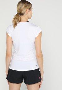 BIDI BADU - BELLA 2.0 TECH NECK TEE - Basic T-shirt - white - 2