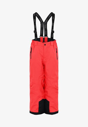 Snow pants - coral red