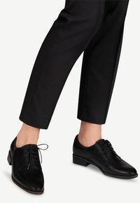 Tamaris - Lace-ups - black leather - 0