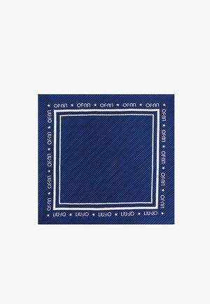ECO-FRIENDLY PLEATED - Scarf - blue