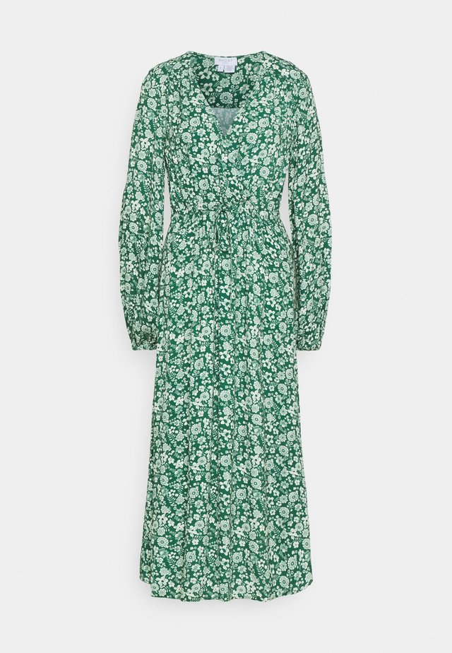 ELIZA DRESS - Vestito estivo - green print