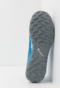 Mammut - SAENTIS LOW MEN - Hiking shoes - gentian/dark gentian - 4