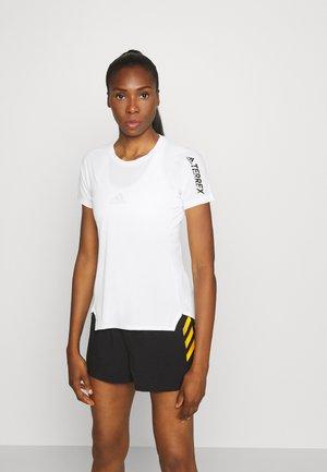 AEROREADY TRAIL RUNNING SHORT SLEEVE TEE - T-shirt con stampa - nondye