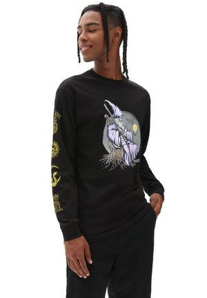 MN NEW AGE LS - Sweatshirt - black
