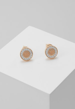 Earrings - rosegold-coloured