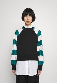 Paul Smith - STRIPE PRINT - Sweatshirt - black - 0