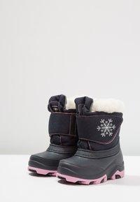 Friboo - Snowboots  - dark blue/pink - 2
