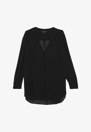 DOBBY - Blouse - black